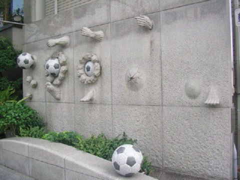 サッカーレリーフ