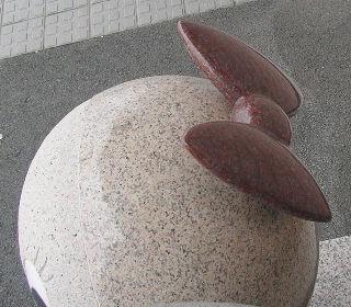 リボン型の耳