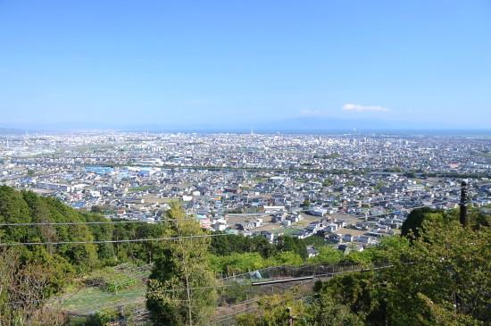 岩本山公園 昼間に見える景色