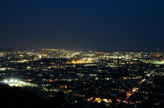 岩本山公園の夜景1