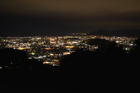 東静岡周辺の夜景