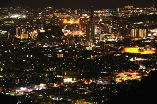 梶原山公園の夜景2