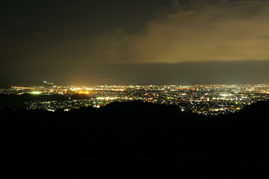 京塚山の夜景