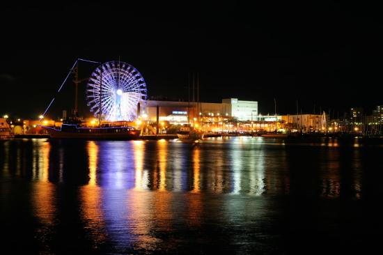 エスパルスドリームプラザ マリンターミナル周辺の夜景