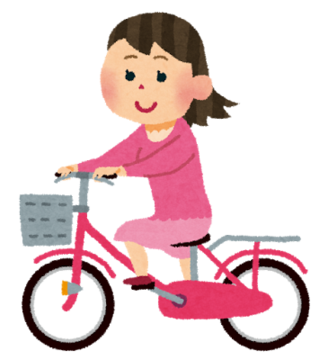 モバイル4G/Dは自転車