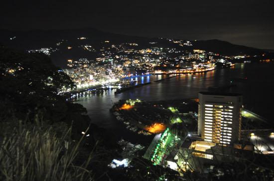熱海城の夜景1