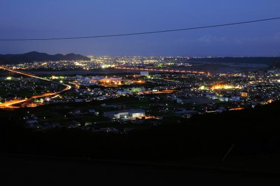 志戸呂の夜景