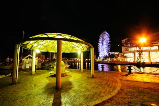 マリンターミナル周辺の夜景2