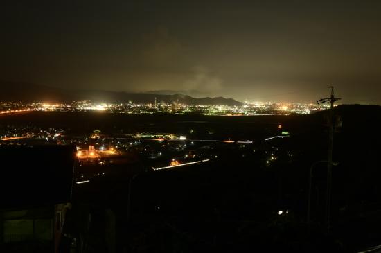 牧の原公園の夜景