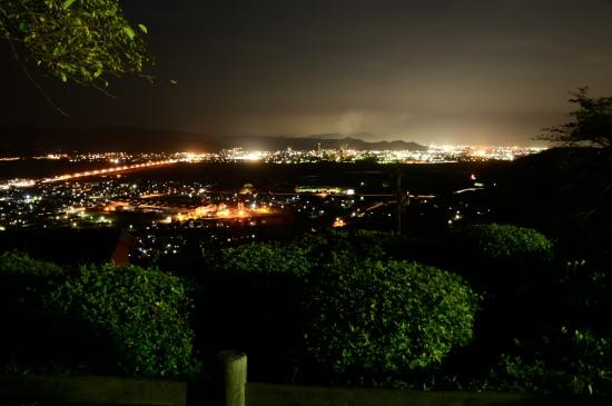 島田市、藤枝市の夜景
