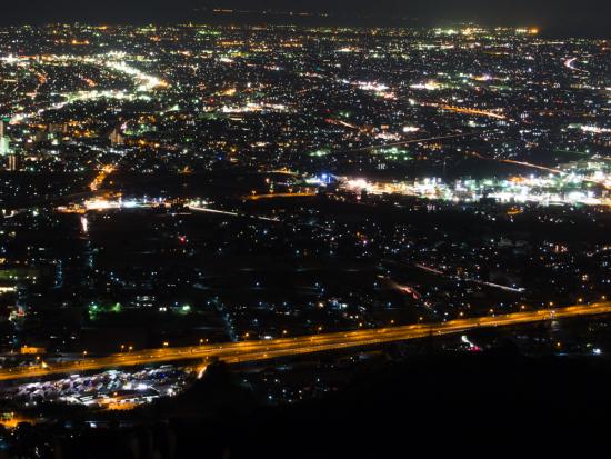 高草山の夜景