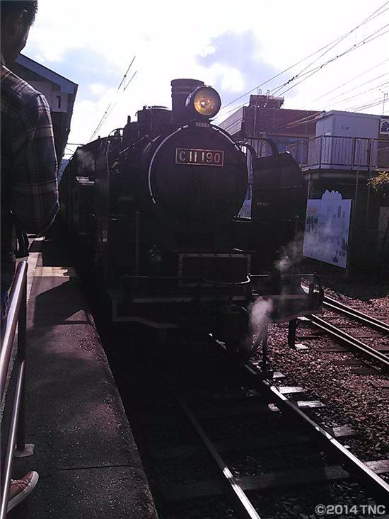 蒸気機関車前