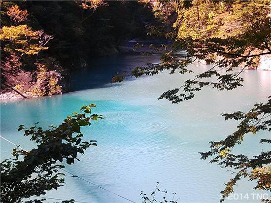 寸又峡・大間ダム湖
