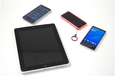 いろんなスマートフォンやタブレット