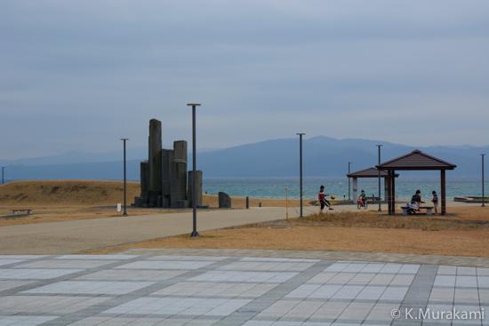 ふじのくに田子の浦みなと公園と駿河湾